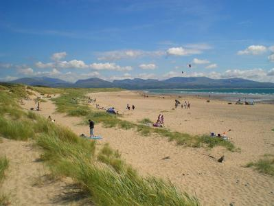 Dog friendly Llanddwyn Beach